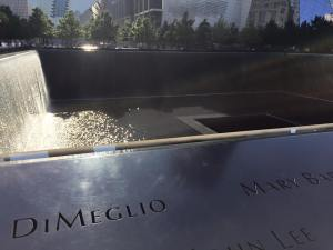 One of the Fountains/Pools at the 9/11 Memorial