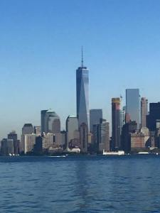 The Skyline - Freedom  Tower is in the center